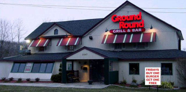 Ground Round Grill & Bar survey Outside