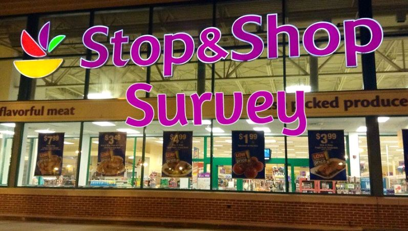 Stop and Shop Survey outside 2